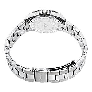 Stuhrling Original 408LL.03 - Reloj de cuarzo para mujer, correa de acero inoxidable color plateado de Stuhrling Original