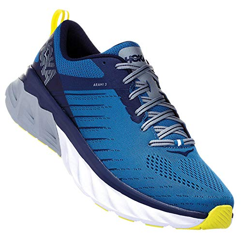 HOKA ONE One Arahi 3 Deportivas Hommes Azul/Verde - 44 - Running/Trail