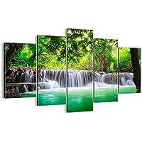 Cuadro sobre lienzo - 5 piezas - Impresión en lienzo - Ancho: 150cm, Altura: 100cm - Foto número 2502 - listo para colgar - en un marco - EA150x100-2502
