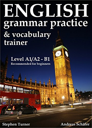 English Practice Book and Vocabulary Trainer, (grammar