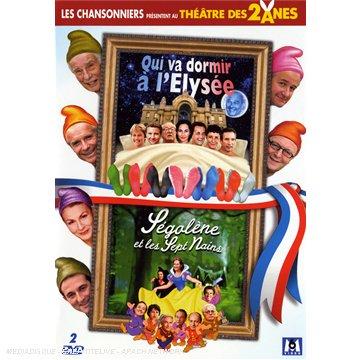 Théâtre des 2 ânes : Ségolène et les Sept Nains + Qui va dormir à l'Elysée