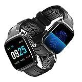 Fitness Tracker Ampio Schermo a Colori Activity Tracker Impermeabile Smartwatch Wristband con Cardiofrequenzimetro da Polso Molteplici Modalità Sport per Donna Uomo per Huawei Samsung Xiaomi iPhone