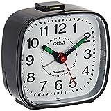 #9: Orpat Beep Alarm Clock (Black, Small, 7.18 cm x 3.3 cm x 6.8 cm, TBB-137)