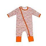OverDose Baby Boys Girls Hill Print Zipper Long Sleeve Romper