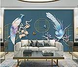 HONGYUANZHANG Modernes Minimalistisches Tier Tapete Des Foto-3D Künstlerische Landschafts-Fernsehhintergrund-Tapete,104Inch (H) X 136Inch (W)