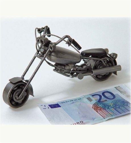 Deko Metall Chopper Bike Motorrad ca. 275 g