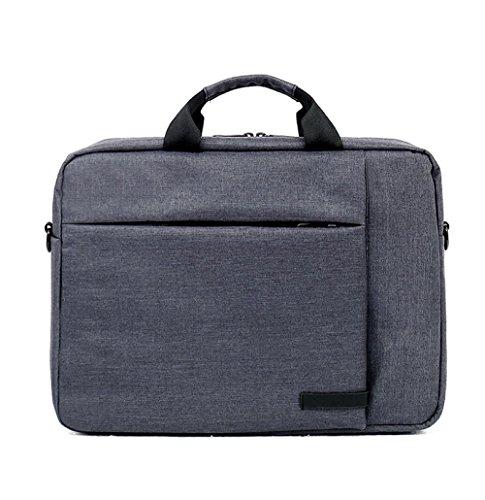 PANGOIE, 14-15 Zoll Laptop-Tasche, Männer Aktentasche Nylon Business Bag Damen Schulter Messenger Bag,6-14inch