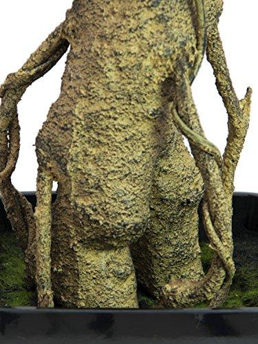 artplants – Künstlicher Podocarpus Amando, grün, 150 cm – Deko Steineiben Pflanze/Kunstbaum