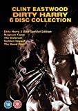 Dirty Harry Complete Movies Film Collection [6 Discs] DVD Boxset: Dirty Harry / Magnum Force / Enforcer / Sudden Impact / Dead Pool + Extras by Clint Eastwood