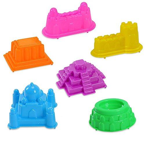 vanker-6pcs-set-chateau-batiment-modele-moule-sable-de-moulage-jouet-couleur-aleatoire