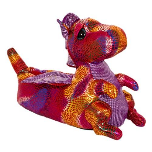 Style It Up - Sandali con Zeppa uomo Red - Dinosaur
