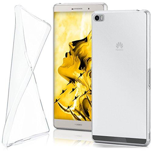 moex Huawei P8 Max   Hülle Silikon Transparent Klar Clear Back-Cover TPU Schutzhülle Dünn Handyhülle für Huawei P8 Max Case Ultra-Slim Silikonhülle Rückseite