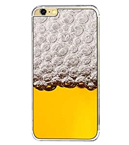 Fuson Designer Back Case Cover for Apple iPhone 6s Plus :: Apple iPhone 6s+ (chilled beer alcohol alcoholics bubbles )