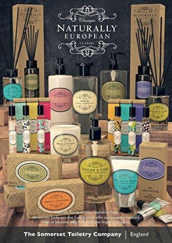 Naturally European Aromakerze im Glas 200 g - Ingwer und Lime -
