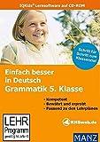 Einfach besser in Deutsch: Grammatik 5. Klasse Bild