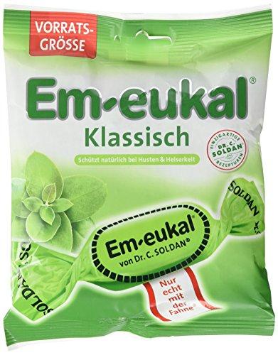 Em-Eukal Klassisch Hustenbonbons mit Zucker, 150 g