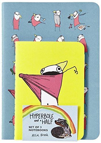Portada del libro Hyperbole and a Half Notebooks by Allie Brosh (2015-02-03)