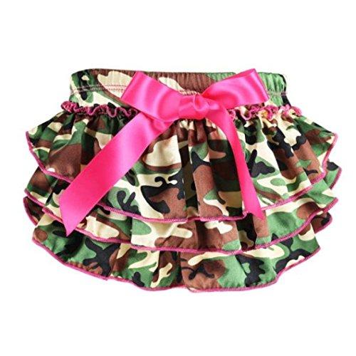 Bodhi2000 Baby Mädchen (0-24 Monate) Rock Gr. S, Camouflage -