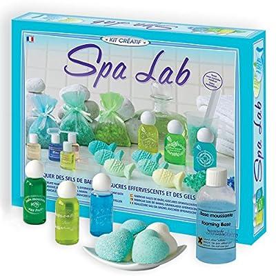 Sentosphere 3900256 Spa Lab - Juego de creación de jabón y sales de baño [Importado de Alemania] por Sentosphere