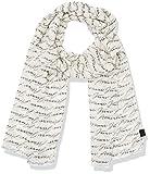 Armani Jeans Herren Schals 9340577P701, Weiß (Bianco 00010), One Size