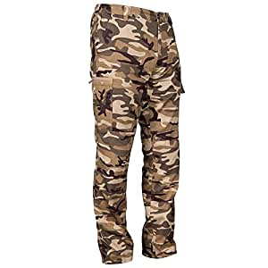 SOLOGNAC STEPPE 300 HUNTING TROUSERS LIGHT CAMO (XXL)