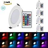 XJLED® 5W Led Deckenspots RGB Lights
