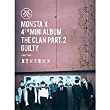 KPOP MONSTA X 4th Mini Album - The CLAN 2.5 Part.2 Guilty [Guilty version] CD + Poster + Fotobuch + Fotokarte + Geschenk