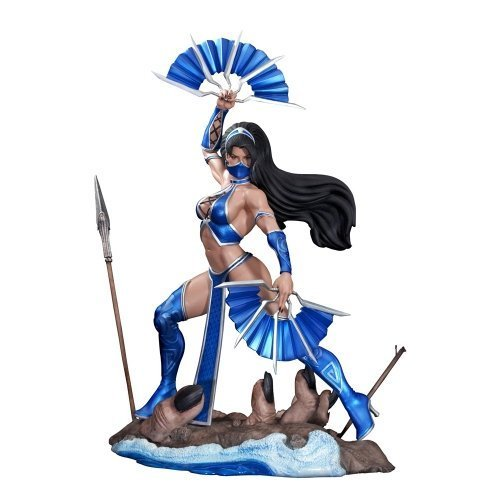 Pop Culture Shock Collectibles Mortal Kombat: Kitana Statue, Scale 1:4 by Pop Culture Shock (Aus Kitana Kombat Mortal)