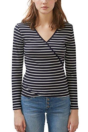 edc by Esprit, T-Shirt Femme Bleu (Navy)