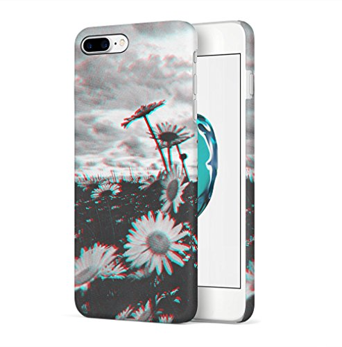 I Promise To Stay Wild Wanderlust Travel Apple iPhone 7 PLUS SnapOn Hard Plastic Phone Protective Custodia Case Cover Trippy Daisy