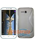 Funda S line Sline Gel Transparente Alcatel One Touch POP C9