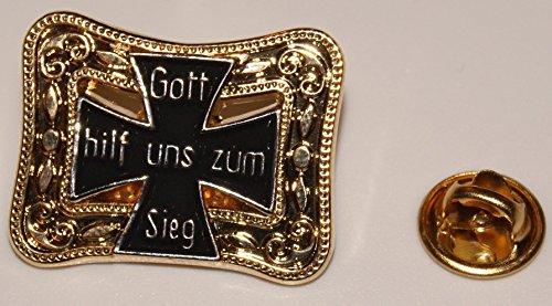 Gott hilf uns zum Sieg Eisernes Kreuz l Anstecker l Abzeichen l Pin 392