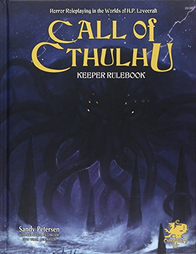 Call of Cthulhu Keeper Rulebook - Revised Seventh Edition: Horror Roleplaying in the Worlds of H.P. Lovecraft (Call of Cthulhu Roleplaying)