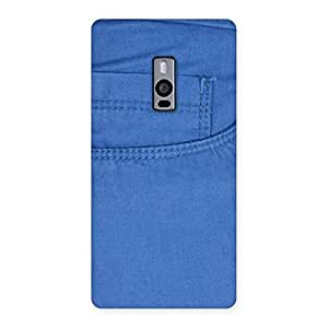 Blue Jeans Back Case Cover for OnePlus Two