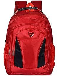 Swiss Eagle 24 Litre Red & Black Laptop Backpack - (SE3712RDBK )