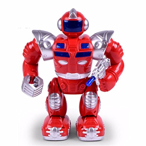 Xshuai 20 * 9 * 25 cm Simulation Walking Speech Walking Roboter Kinder Spielzeug Weihnachtsgeschenk - Walking-spielzeug-roboter