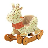 Labebe - Wooden Rocking Giraffe and Ride on