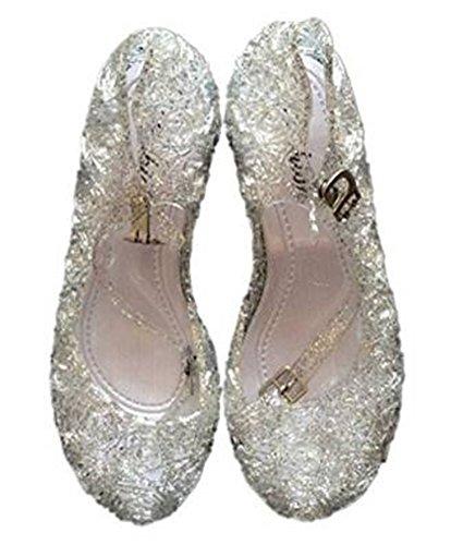 Ecollection Mädchen Tanz - schuhe Ballerinas Schuhe MIT keilabsatz Weiße