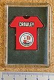 MOTD Match Day football magazine League Ladder tab fridge magnet - Crawley Town