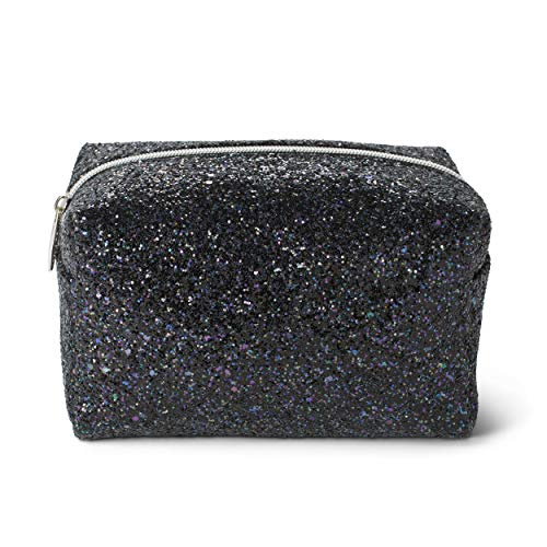 e7d274f51 Tri-Coastal Design Makeup Bag in Glitter, Perfect to Contain The Make-up