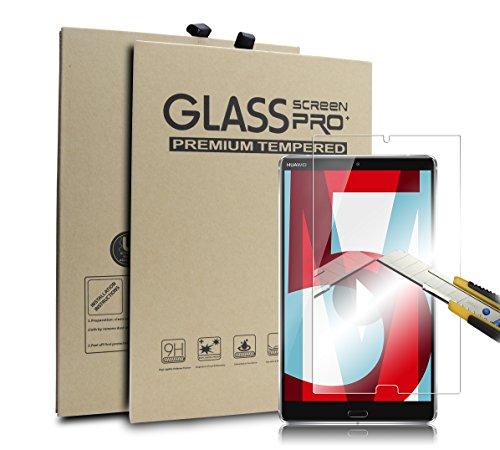 Supremery Display Glas Folie für Huawei MediaPad M5 (8,4 Zoll) Schutzfolie Panzerglas extra Hart gegen Kratzer & Stürze - Blasenfrei HD Clear (Premium Qualität)