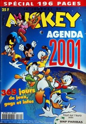 mickey-parade-no-2531-du-20-12-2000-special-196-pages-agenda-2001-tout-sur-leuro-avec-bnp-paribas