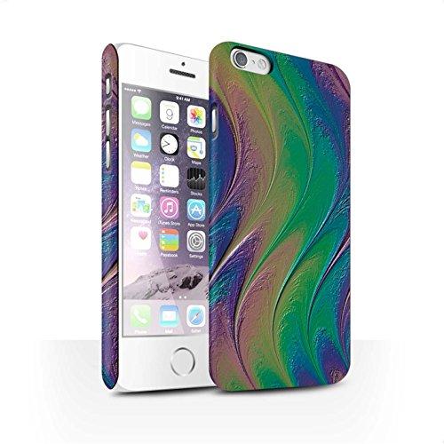STUFF4 Matte Snap-On Hülle / Case für Apple iPhone 7 Plus / Flüssigkeit Wirbelt Muster / Modern Lebendig Kollektion Regenbogen/Perle