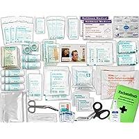 Komplett-Set Erste-Hilfe DIN 13169 EN 13 169 PLUS 2 für Betriebe inkl. Hände-Anitsept-Spray & Notfallbeatmungshilfe preisvergleich bei billige-tabletten.eu