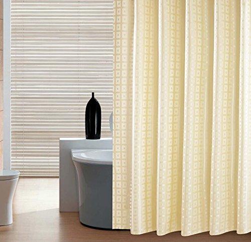 MDRW-Das Hotel Ist Wasserdicht Schimmel Beweis Verdickung Bad Bad Aus Stoff Gelbe Farbe Box Zurück Bad - Und Hängen Gardinenh280*W200