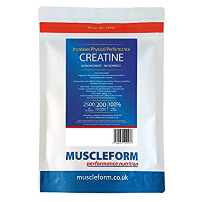 Muscleform 500 g Micropure Creatine Monohydrate - Pack of 2 by Muscleform
