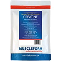 Muscleform 500 g Micropure Creatine Monohydrate - Pack of 2