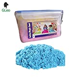 GLeo Active Magic Clay Sand 1 KG in Air Tight Container with 6