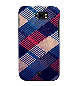PRINTVISA Abstract Pattern Case Cover for Micromax A110 Canvas 2