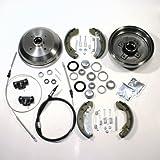 Bremstrommel Bremsen Set + Zubehör + 2 x Handbremsseil hinten